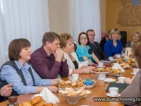 Елена Писарева встретилась с сотрудниками районных газет
