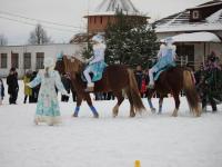 Еврейская община в Новгородской области проводит конные спектакли для детей