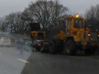 Фото ДТП под Великим Новгородом с погибшим водителем