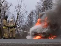 ГАЗ прислал удивительный комментарий по сгоревшей «Газели» под Великим Новгородом
