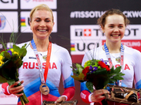 Новгородка в Минске вошла в призёры этапа кубка мира по вело-треку