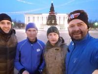 Трезвые новгородцы вышли на пробежку 1 января