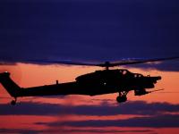 В небе над Великим Новгородом появились боевые вертолёты