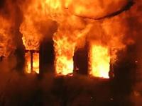 В Новгородском районе на пожаре погиб человек