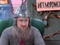 В новогоднем телеэфире представили скетч про богатыря — далекий прообраз новгородского сериала Александра Цекало