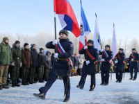 23 февраля в Великом Новгороде начали с посвящения в юнармейцы