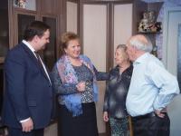 Андрей Никитин пригласил в оргкомитет подготовки 75-летия освобождения Новгорода ветерана войны Василия Крестьянинова