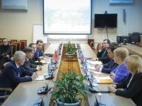 Андрей Никитин провел встречи с консулами трех европейских государств