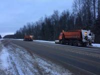 Дорожные службы находятся в режиме повышенной готовности в преддверии сильного снегопада
