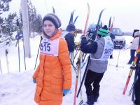 Поддорчане поддержали российских олимпийцев выходом на лыжню