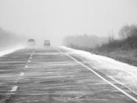 В морозные дни новгородцев оповещают, куда звонить в случае проблем на трассах