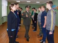 В Новгородской области офицеры запаса готовят школьников к военной службе