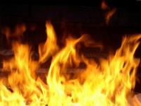 В Сольцах произошел пожар в доме, где были дети