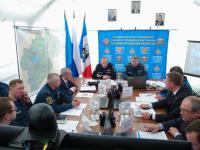 В Великом Новгороде на совещании с  замминистра МЧС назвали места, где будет паводок