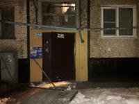 В Великом Новгороде обрушившийся козырек подъезда повредил газовую трубу