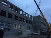В Великом Новгороде школу на улице Белорусской достроят к окончанию весны