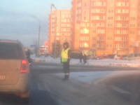 В Великом Новгороде взбунтовавшуюся электронику заменили человеком