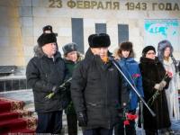 В Якутске почтили память погибших 75 лет назад на Ильмене земляков
