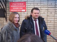 Андрей Никитин и Майя Санникова: мы голосовали за мир