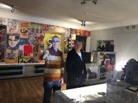 Антон Долин посетил киномузей в Великом Новгороде