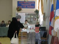 Боровичане выбирают президента страны и голосуют за общественные территории