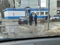 Фотофакт: ДТП в Великом Новгороде