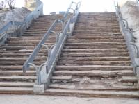 Лестницы Пальмиры и Великого Новгорода породнило варварство