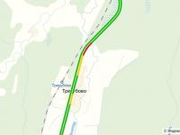 На Трассе М-10 в Чудовском районе образовалась пробка