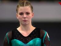 Новгородка Элеонора Афанасьева успешно выступила на этапе кубка мира по спортивной гимнастике