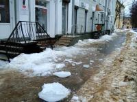 Новгородцы опасаются наступившей оттепели