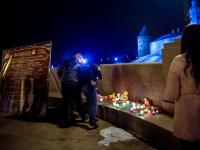 Новгородцы почтили память погибших в кемеровской «Зимней Вишне»