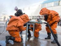 Проверка на прочность: аппаратчики «Акрона» умеют быстро действовать в экстремальных условиях