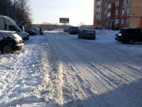 С заснеженными дорогами новгородцы боролись вместе с «Вечевым колоколом»