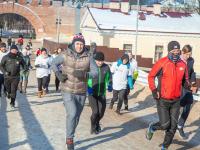Сегодня новгородцы провели время вместе с бегущим экскурсоводом