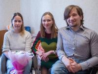 Супруга новгородского губернатора лично проверила, какую помощь оказали нуждающимся