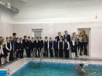 В гимназии «Гармония» спустя четверть века вновь начал работу бассейн
