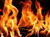 В Крестецком районе спасли мужчину из горящего помещения