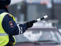 В Великом Новгороде автоинспекторам попался неадекватный водитель