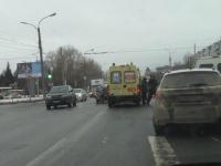 Очевидцы: водителя «Нивы» в Великом Новгороде выбросило через лобовое стекло
