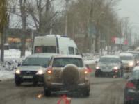 В Великом Новгороде в ДТП попала скорая помощь