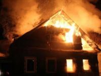 Во время пожара в деревне Трубичино на помощь пришли местные жители