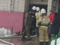 Жильцов дома на улице Псковской настигло происшествие с загоревшимся мусором