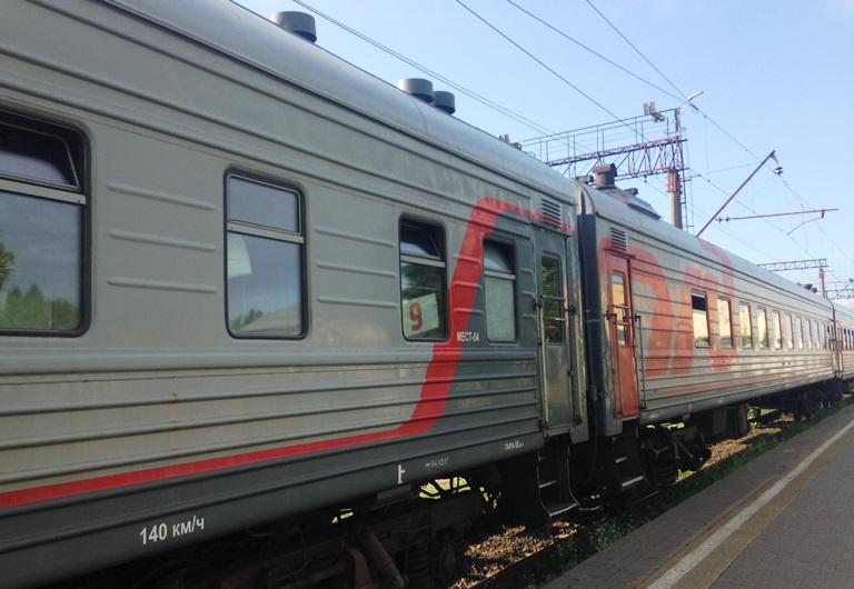 В сентябре обновят состав поезда Великий Новгород — Москва