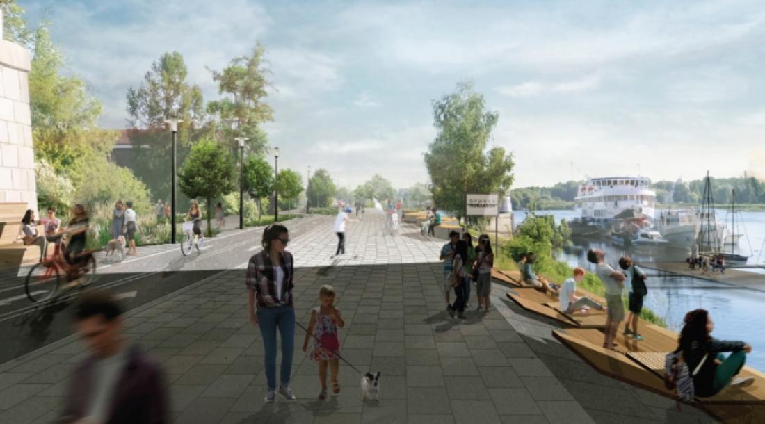 Валентина Захаркина: на Софийской набережной может появиться новая Софийская площадь