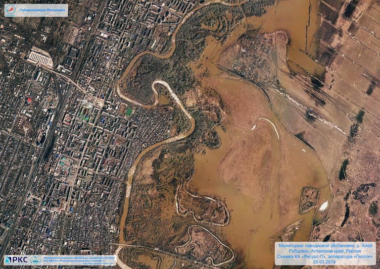 5384906b44d7 Ситуацию с паводком в Новгородской области и других регионах страны  мониторят из космоса