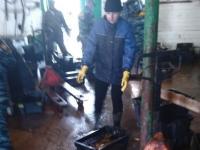 К ильменским рыбакам пришли с проверкой люди в камуфляже и нашли полтонны икры