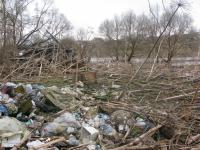 Наводнение под Боровичами уходит, но оставляет проблемы