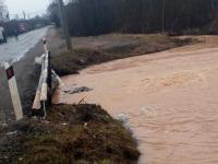 «Новгородавтодор» опубликовал список участков дорог, пострадавших от наводнения