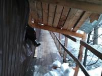 Новгородцы боятся ходить рядом со старой баней на Великой