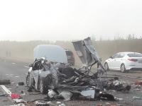 Сегодня на М-10 в Новгородской области насмерть разбились три человека